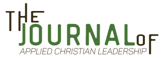 The Journal of Applied Christian Leadership